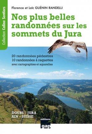 Nos plus belles randonnées sur les sommets du Jura - gap - 9782741705932 -
