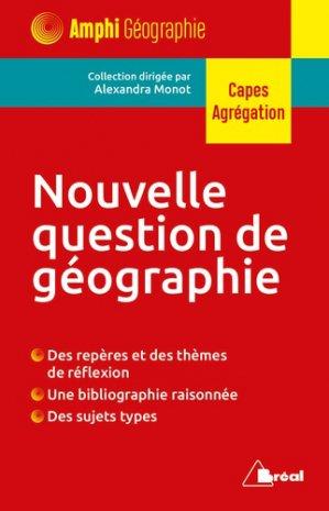 Nouvelle question de géographie - Bréal - 9782749539133 -