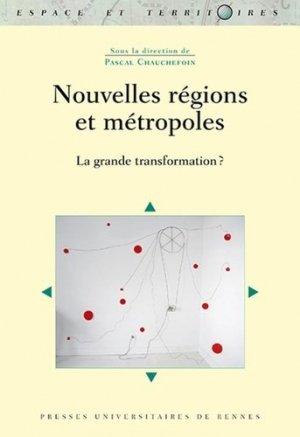 Nouvelles régions et métropoles - presses universitaires de rennes - 9782753578821 -