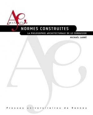 Normes construites - presses universitaires de rennes - 9782753581036 -