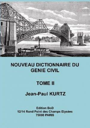 Nouveau Dictionnaire du Génie Civil - Books on Demand Editions - 9782810621019 -