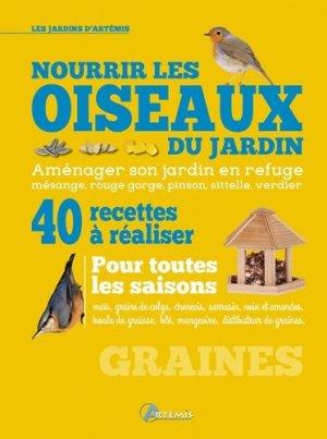 Nourrir les oiseaux du jardin - artemis - 9782816010398 -