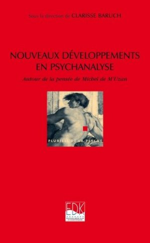 Nouveaux développements en psychanalyse - edk - 9782842541569 -