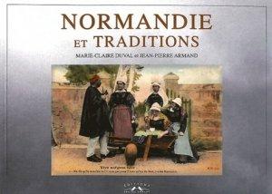 Normandie et traditions - corlet - 9782847064001 -