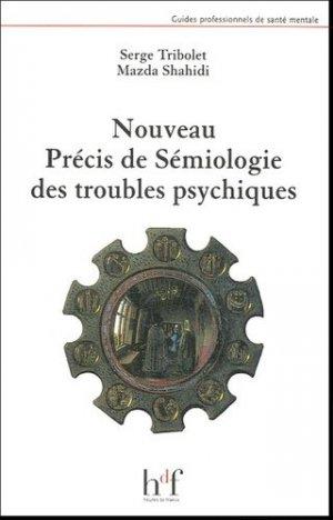 Nouveau précis de sémiologie des troubles psychiques - heures de france - 9782853852623