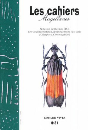 Notes on Lepturinae (IX), new and interesting Lepturinae from South East Asia - magellanes - 9782911545450 -