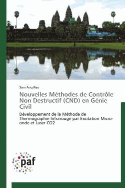 Nouvelles Méthodes de Contrôle Non Destructif (CND) en Génie Civil - presses académiques francophones - 9783838172194 -