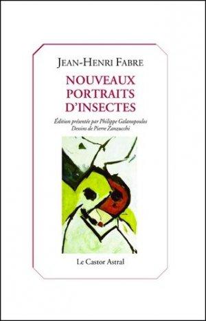 Nouveaux portraits d'insectes - castor astral - 9791027802227