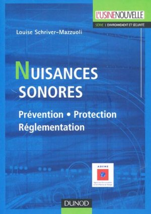 Nuisances sonores - dunod - 9782100502226 -
