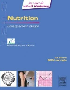 Nutrition - elsevier / masson - 9782294738517