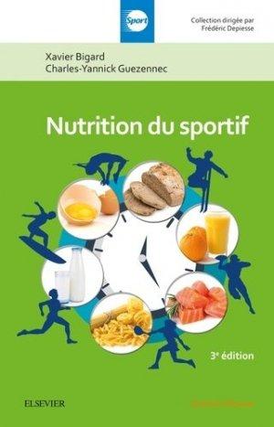 Nutrition du sportif - elsevier / masson - 9782294754333 -
