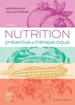 Nutrition préventive et thérapeutique - elsevier / masson - 9782294764615 -