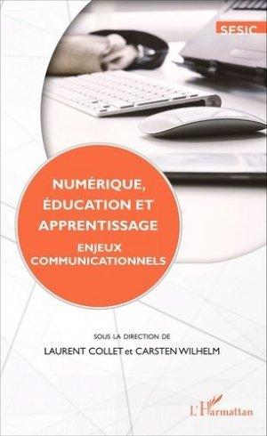 Numérique, éducation et apprentissage - l'harmattan - 9782336307350 -
