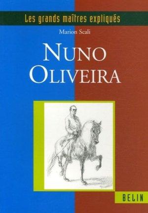 Nuno Oliveira - belin - 9782701134253 -