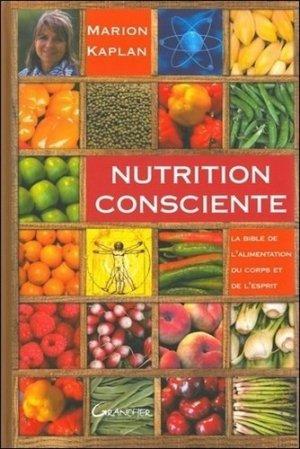 Nutrition consciente - jacques grancher editions - 9782733912683 -