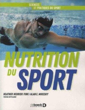 Nutrition du sport - de boeck superieur - 9782807315303 -