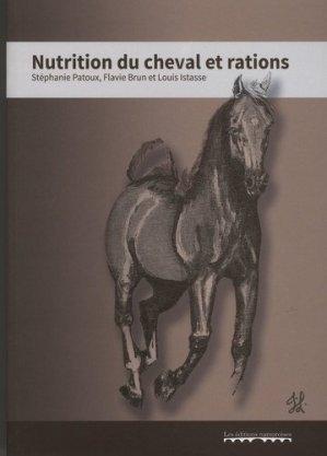 Nutrition du cheval et rations - namuroises - 9782875510600 -