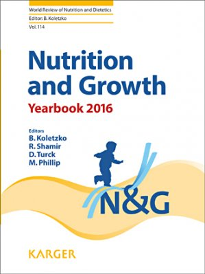 Nutrition and Growth Yearbook 2016 - karger  - 9783318057058 -