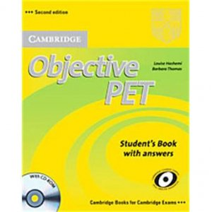 Objective PET - Student's Book with answers with CD-ROM - cambridge - 9780521732666 -