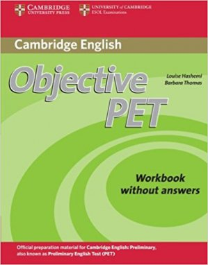 Objective PET - Workbook without answers - cambridge - 9780521732703 -