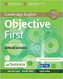 Objective First - Student's Book without Answers with CD-ROM with Testbank - cambridge - 9781107542402