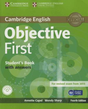 Objective First - Student's Book with Answers with CD-ROM - cambridge - 9781107628304 -