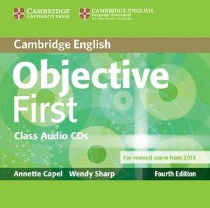 Objective First - Class Audio CDs (2) - cambridge - 9781107628540