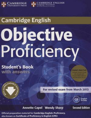 Objective Proficiency - Student's Book Pack (Student's Book with Answers with Downloadable Software and Class Audio CDs (2)) - cambridge - 9781107633681 -