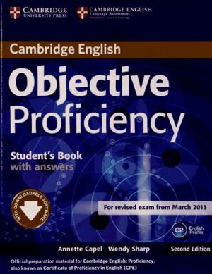 Objective Proficiency - Student's Book with Answers with Downloadable Software - cambridge - 9781107646377 -