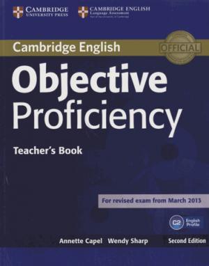 Objective Proficiency - Teacher's Book - cambridge - 9781107670563 -