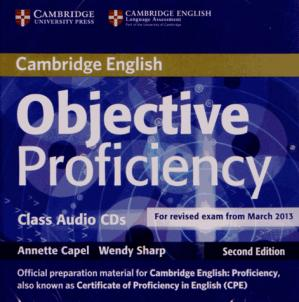 Objective Proficiency - Class Audio CDs (2) - cambridge - 9781107676343 -