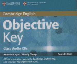 Objective Key - Class Audio CDs (2) - cambridge - 9781107690080 -