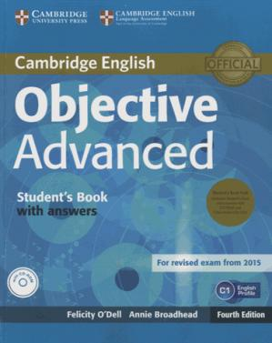 Objective Advanced - Student's Book Pack (Student's Book with Answers with CD-ROM and Class Audio CDs (2)) - cambridge - 9781107691889 -