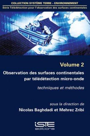 Observation des surfaces continentales par télédétection micro-onde Volume 2 - iste - 9781784051570