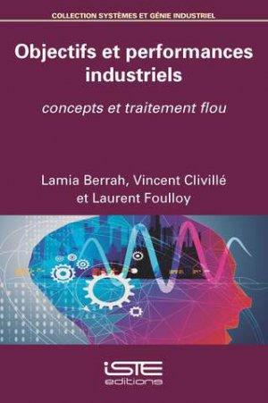 Objectifs et performances industriels - iste - 9781784054335 -
