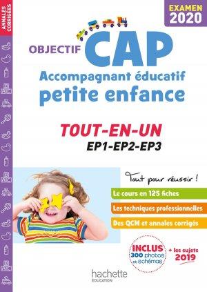 Objectif CAP Accompagnant Educatif Petite Enfance - épreuve professionnelle - hachette - 9782017082590 -