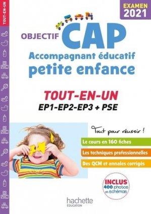 Objectif CAP Accompagnant Educatif Petite Enfance - hachette - 9782017122753 -