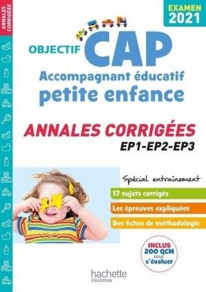 Objectif CAP Accompagnant Éducatif Petite Enfance - hachette - 9782017122760 -