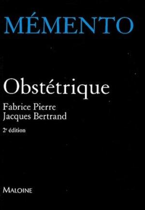 Obstétrique - maloine - 9782224024444 -