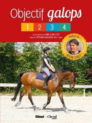 Objectif galops 1-4 - glénat / cheval magazine - 9782344017135 - majbook ème édition, majbook 1ère édition, livre ecn major, livre ecn, fiche ecn