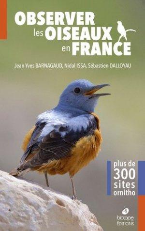 Observer les oiseaux de France - biotope - 9782366622287