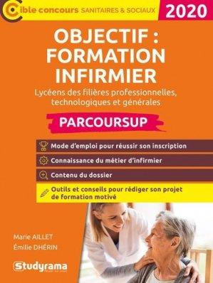 Objectif : formation infirmier via parcoursup 2020 - studyrama - 9782759041442 -