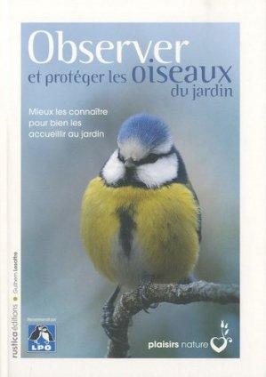 Observer et protéger les oiseaux du jardin - rustica - 9782815300018 -