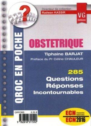 Obstétrique - vernazobres grego - 9782818311592 -