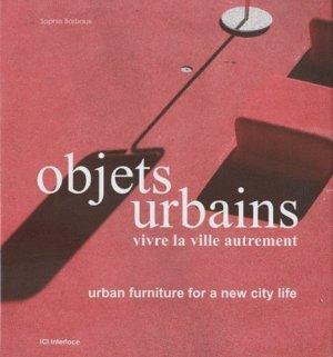 Objets urbains - ici interface - 9782916977171 -