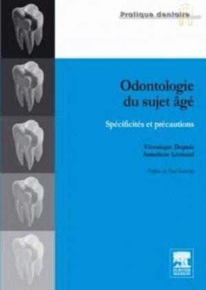 Odontologie du sujet âgé - elsevier / masson - 9782294708787 -