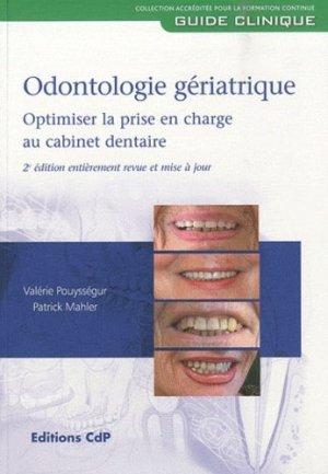 Odontologie gériatrique - cdp - 9782843611612