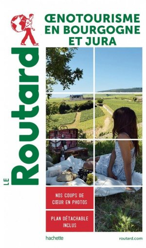 Oenotourisme en Bourgogne et Jura - Hachette - 9782017870944 -