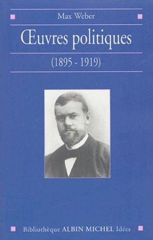 Oeuvres politiques (1895-1919) - Albin Michel - 9782226142313 -