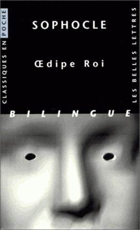 Oedipe Roi - les belles lettres - 9782251799247 -